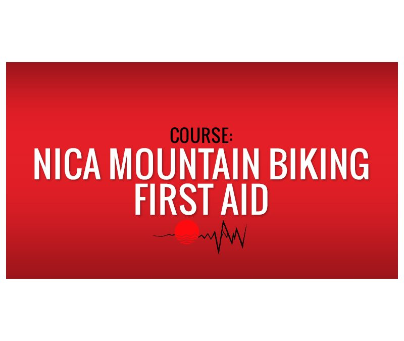 NICA Mountain Biking First Aid