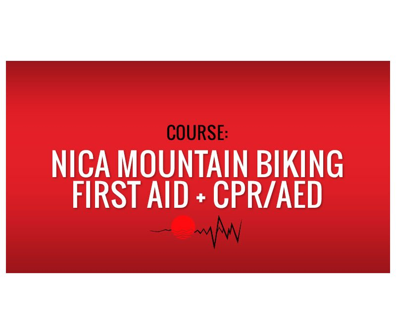 NICA Mountain Biking First Aid + CPR/AED Combo
